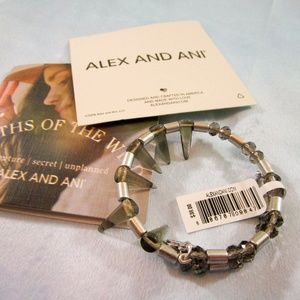 Alex and Ani Depths of Wild Wrap Bracelet - Silver